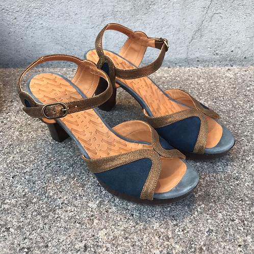 Chie Mihara sandal (blå/bronze)