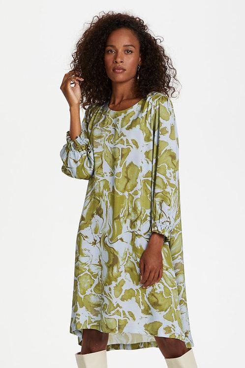 Karen by Simonsen kjole (grøn/blå)