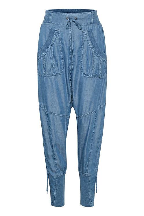 Cream pants (blå)