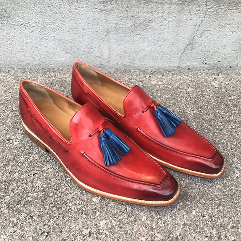 Melvin & Hamilton sko (rød/blå)