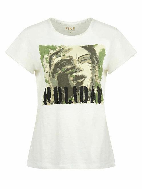 Fine Copenhagen t-shirt (hvid m/print)