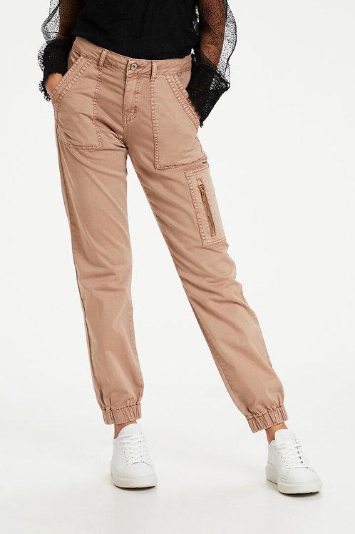 Cream jeans (cognac)