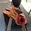 Thumbnail: Chie Mihara sandal (brun/rød/sort)