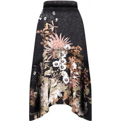 Nü nederdel (sort med mønster)