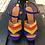 Thumbnail: Chie Mihara sandal (blå/grøn/rød/guld)