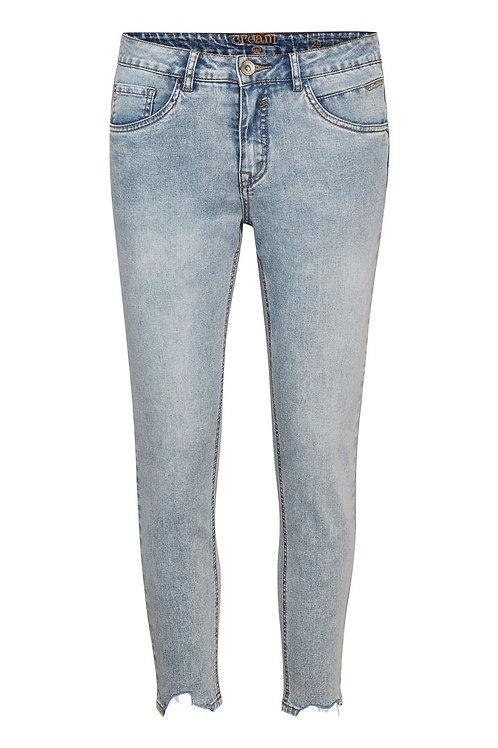 Cream jeans (lys blå)