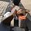 Thumbnail: Chie Mihara sandal (sort/hvid/bronze)