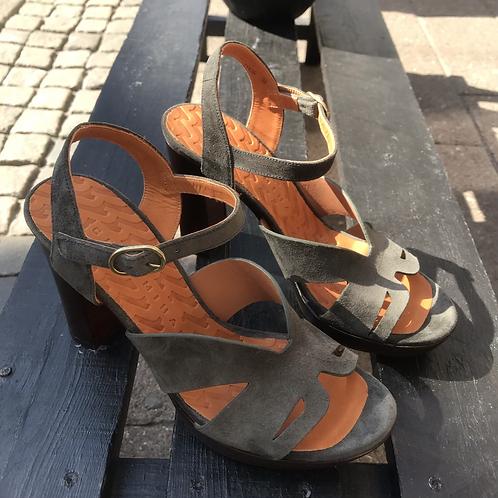 Chie Mihara sandal (armygrøn)