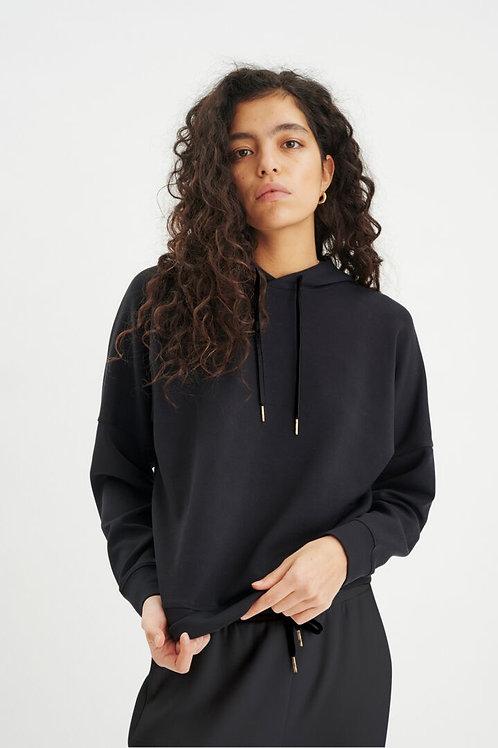 InWear hættetrøje (sort)