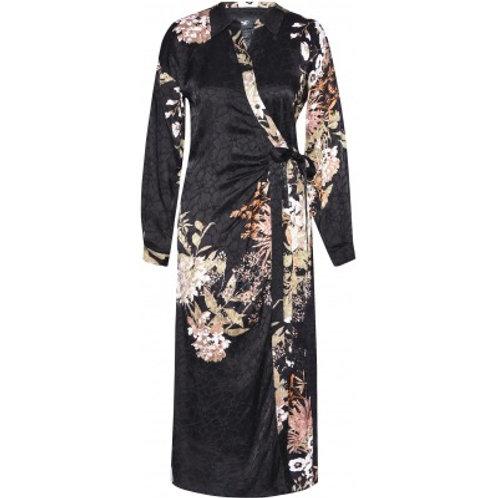 Nü kjole (sort med mønster)