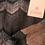 Thumbnail: Gustav tynd strik (sølv/brun/grå)