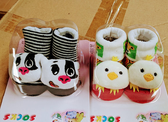 baby socks assorted designs