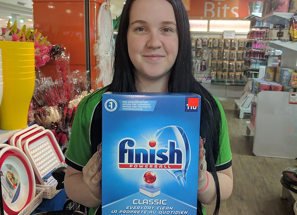 Finish dish washing tablets 110pk