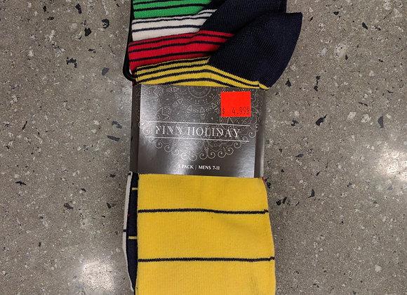 Mens trendy cruiser socks 5pk