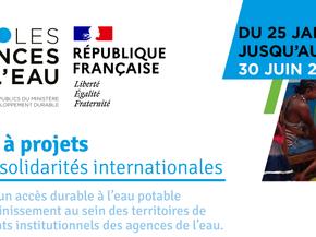 Appel à projets : Eau et solidarités internationales