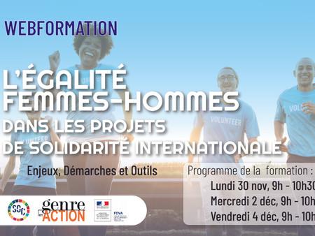 Égalité femmes-hommes dans les projets de solidarité internationale - SO Coopération