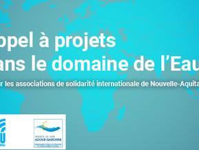 Appel à projets de solidarité internationale dans le domaine de l'eau - SO Coopération
