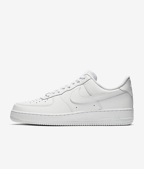 Womens white Air Force 1 (Size has to be available on the Nike website)