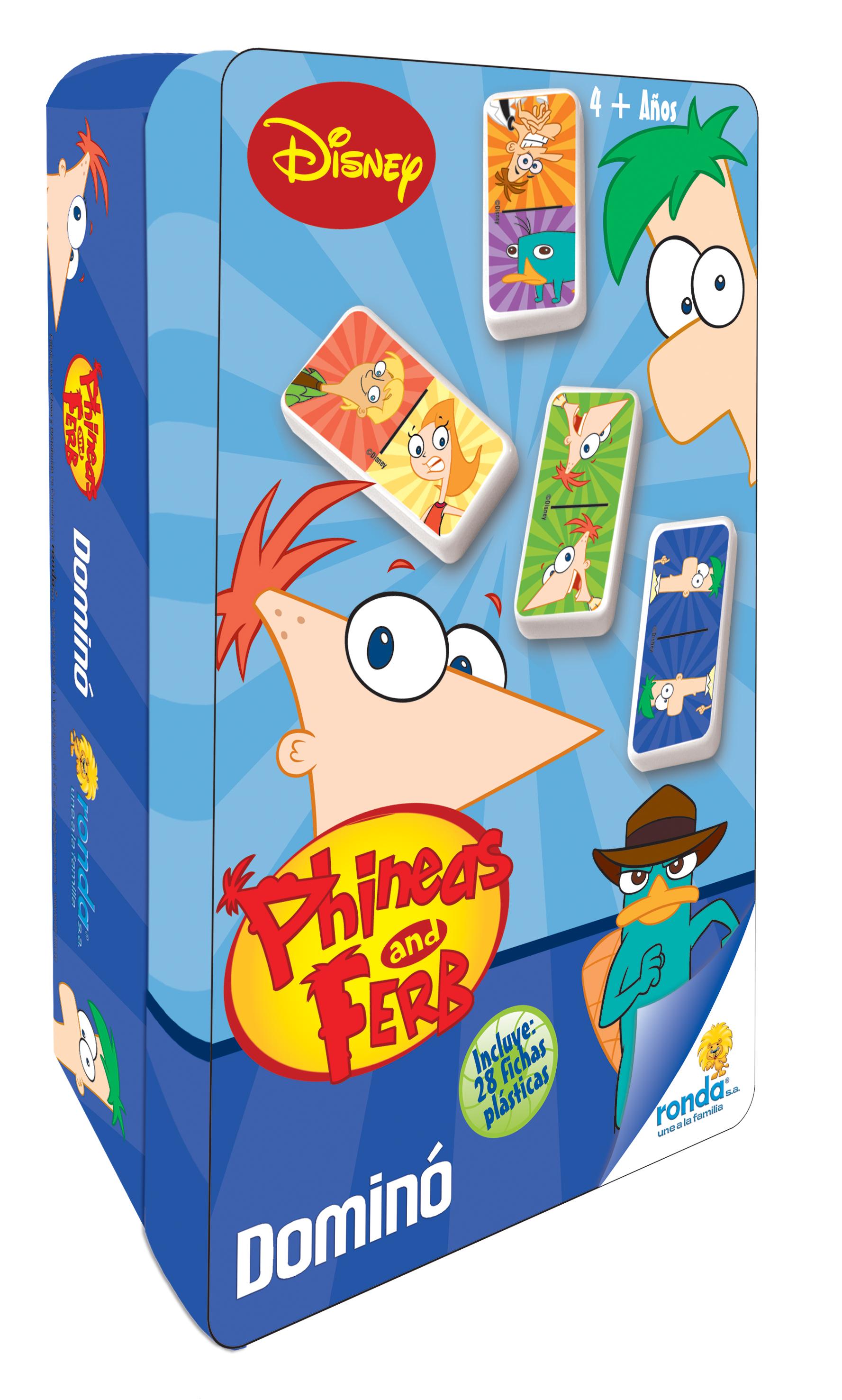 Phineas & Pherb Domino