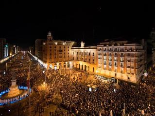 El 8-M en Aragón.