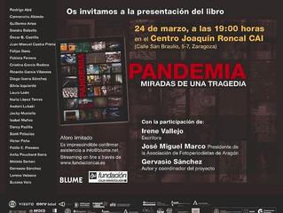 """Presentación del libro """"Pandemia"""""""