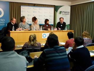 Rueda de prensa con Plena Inclusión