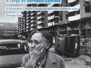 Charla de Gervasio Sánchez