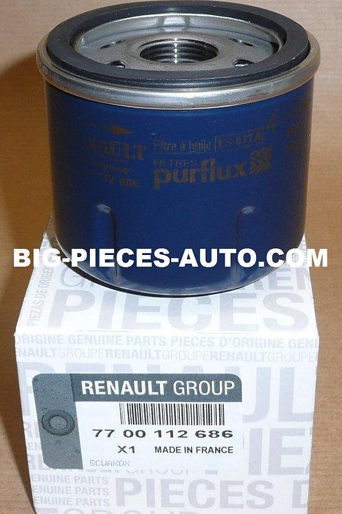Filtre à huile Renault 1.0i /1.2i Clio Kangoo Modus Twingo