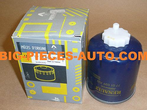 Filtre à carburant D'ORIGINE Renault 1.9 - 2.1 - 2.2 - 2.5 D / TD