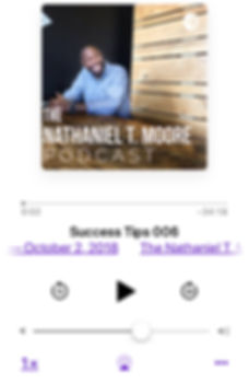 Nathaniel T Moore Podcast