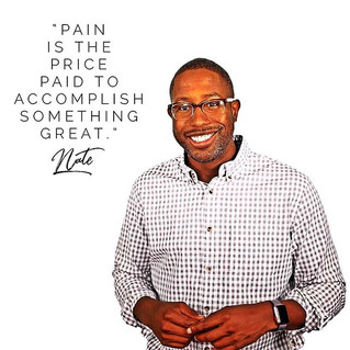 Pain is the Price Paid to Accomplish Something Great