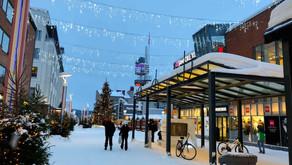 LAPÔNIA FINLANDESA: 3ª cidade visitada -- Rovaniemi, a Terra Oficial do Papai Noel