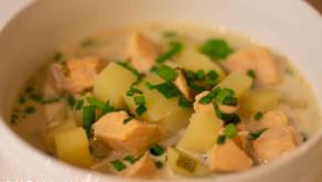 SOPA FINLANDESA DE SALMÃO (Lohikeitto): receita da tradicional sopa da Lapônia