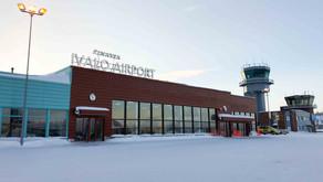 LAPÔNIA FINLANDESA: 1ª cidade visitada -- Ivalo, o aeroporto mais ao Norte da União Européia