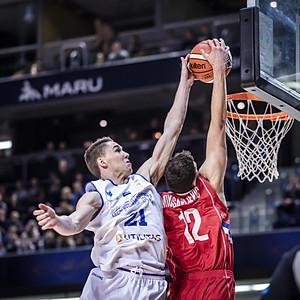 FIBA World Cup 2019 European Qualifiers. Estonia vs Serbia.