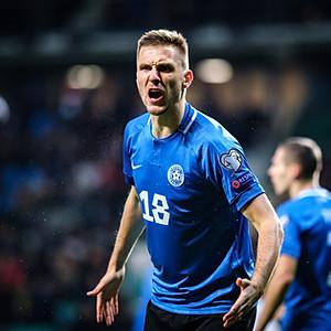 Euro 2020 Qualifiers. Estonia vs Germany, Tallinn, Estonia