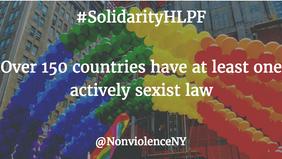 #SolidarityHLPF