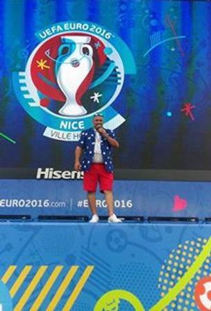 gilles roche animateur presentateur euro 2016 nice