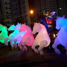 parade des cavaliers
