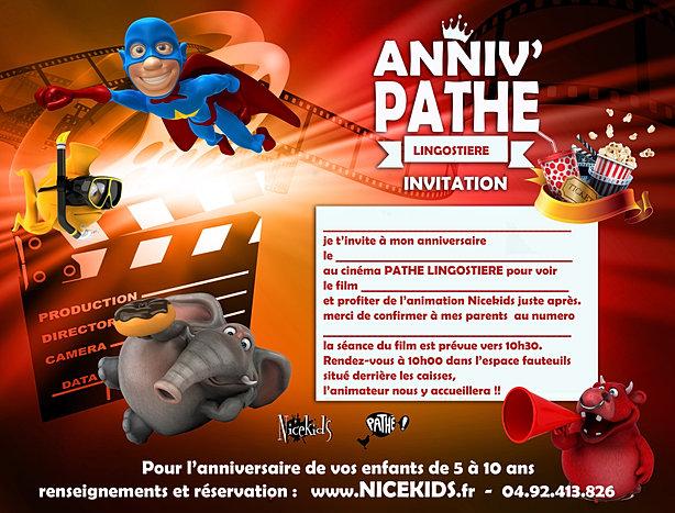 anniversaire cinema pathe