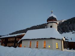 Zuger Kirche Winter