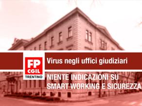 Il virus entra negli uffici giudiziari
