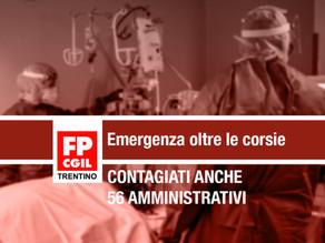 Sanità: emergenza oltre le corsie, contagiati anche 56 amministrativi