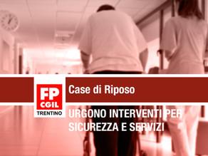 Case di Riposo: Urgono interventi per mettere in sicurezza gli operatori e garantire i servizi