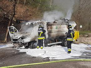 Esplosione del furgone ad Avio