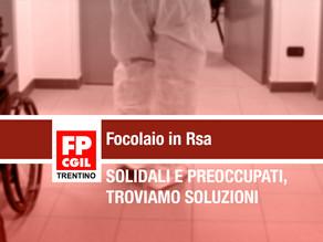 Focolaio in Rsa: «Solidali e preoccupati,troviamo subito soluzioni condivise»
