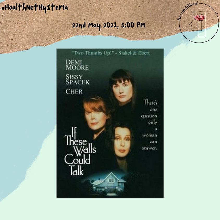 Screening: If these walls could talk