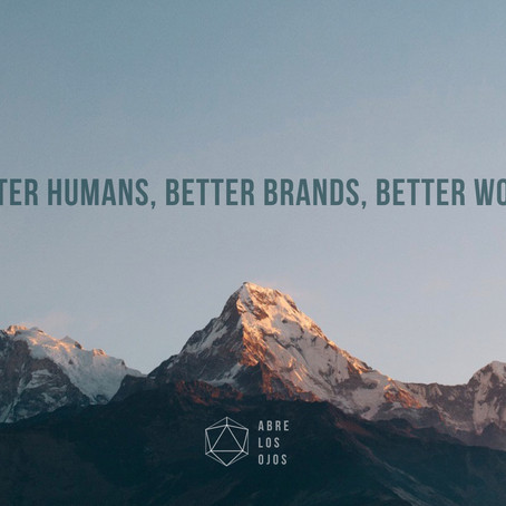 Better humans, better brands, better world