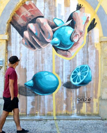 Arte urbana para o Algarve Design Meetin