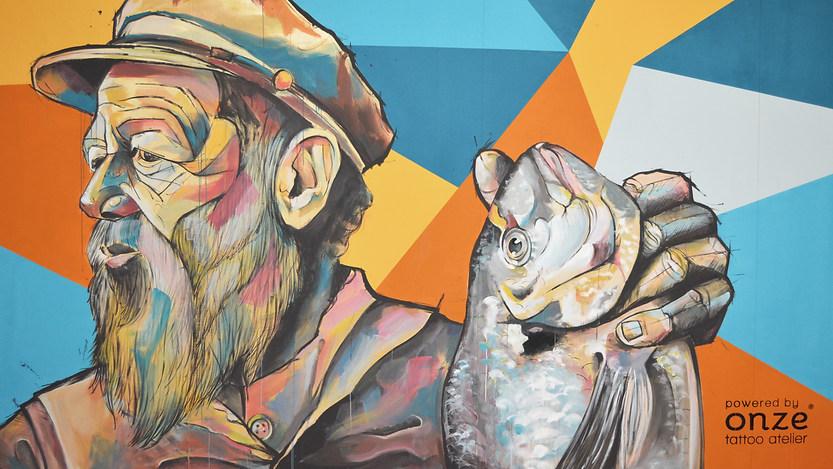 O pescador e a dourada